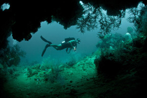 Höhle Geierfels Insel Plavnik